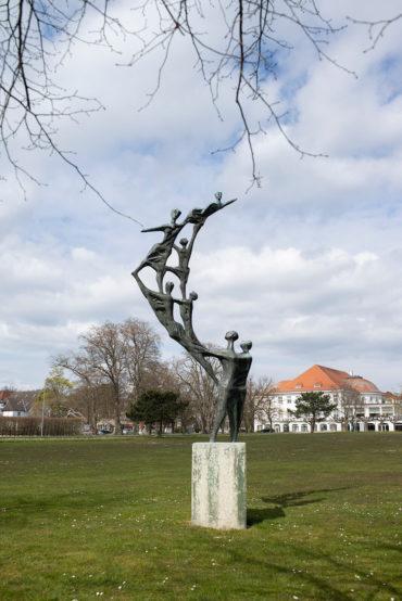 Ursula Hanke-Förster: Balanceakt (Foto: KUNST@SH/Jan Petersen, 2020)