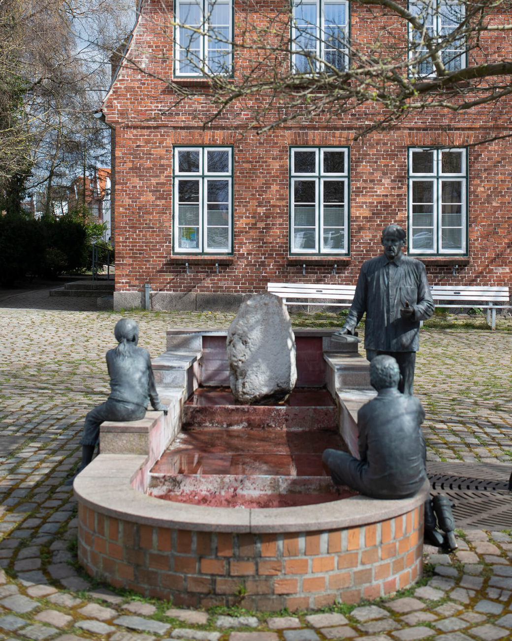 Leo Wirth: Otto-Timmermann-Brunnen (Foto: KUNST@SH/Jan Petersen, 2020)