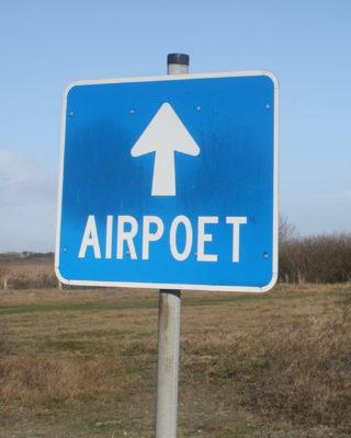 Richard Kelly Tipping: Airpoet (Foto: Helmut W. Schiffler, 2020)