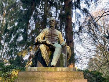 Gustav Eberlein: Grabmal Gustav Adolf Graf von Goetzen (Foto: KUNST@SH/Jan Petersen, 2020)