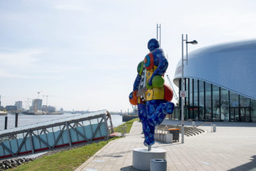 Niki de Saint Phalle: Blue Nana (Foto: KUNST@SH/Jan Petersen, 2020)