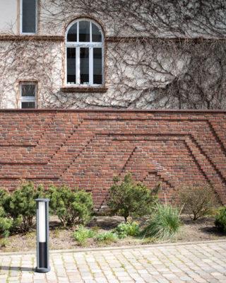 Johannes Ufer: Mauerrelief (Foto: KUNST@SH/Jan Petersen, 2020)