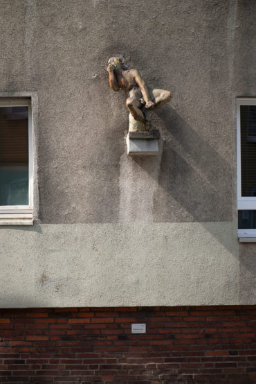 Karl-August Ohrt: Pfeifender Junge (Foto: KUNST@SH/Jan Petersen, 2020)