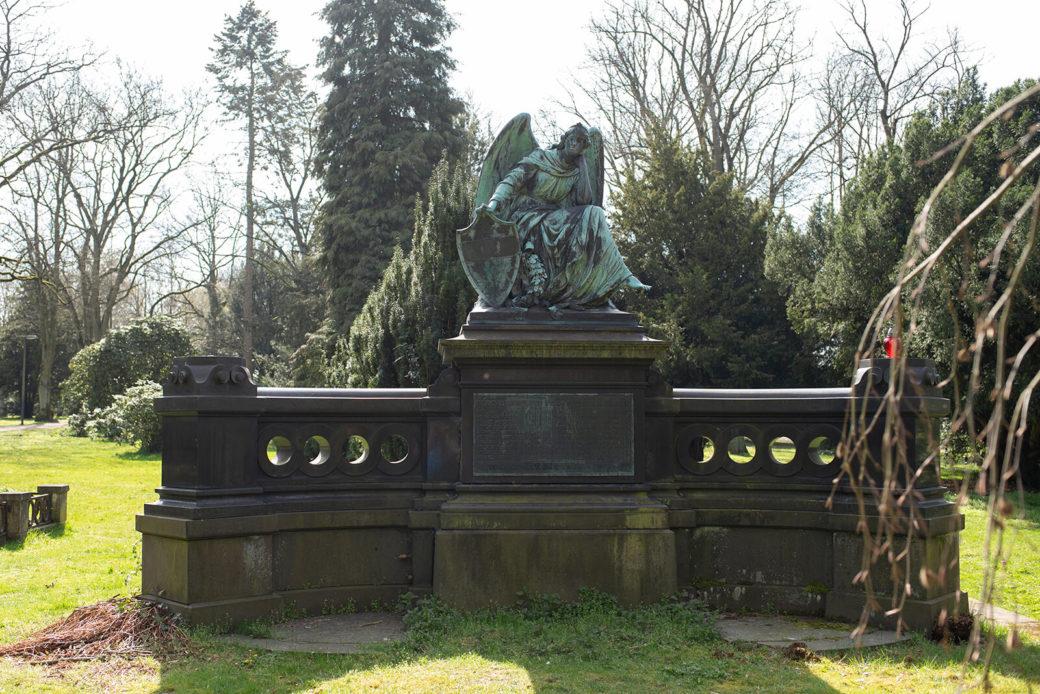 Carl Börner: Denkmal für die gefallenen Soldaten (Foto: KUNST@SH/Jan Petersen, 2020)