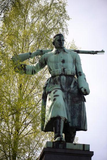 Hermann Hosaeus: Der Soldat (Foto: KUNST@SH/Jan Petersen, 2020)