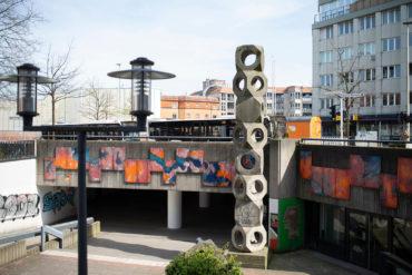 Johannes Ufer: Platzgestaltung (Foto: KUNST@SH/Jan Petersen, 2020)