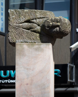 Ulrike Enders: Drei mögliche Denkmäler (Foto: KUNST@SH/Jan Petersen, 2020)