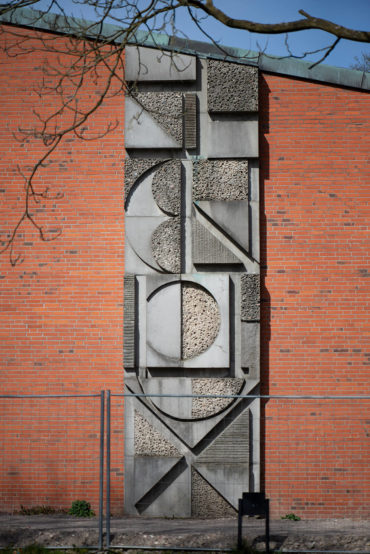 Franz Reckert: Geometrische Formen (Foto: KUNST@SH/Jan Petersen, 2020)