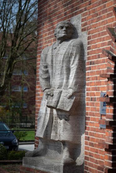 Fritz Behn: Martin Luther (Foto: KUNST@SH/Jan Petersen, 2020)