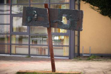 Thomas Helbing: Kaspar Hauser (Foto: KUNST@SH/Jan Petersen, 2020)