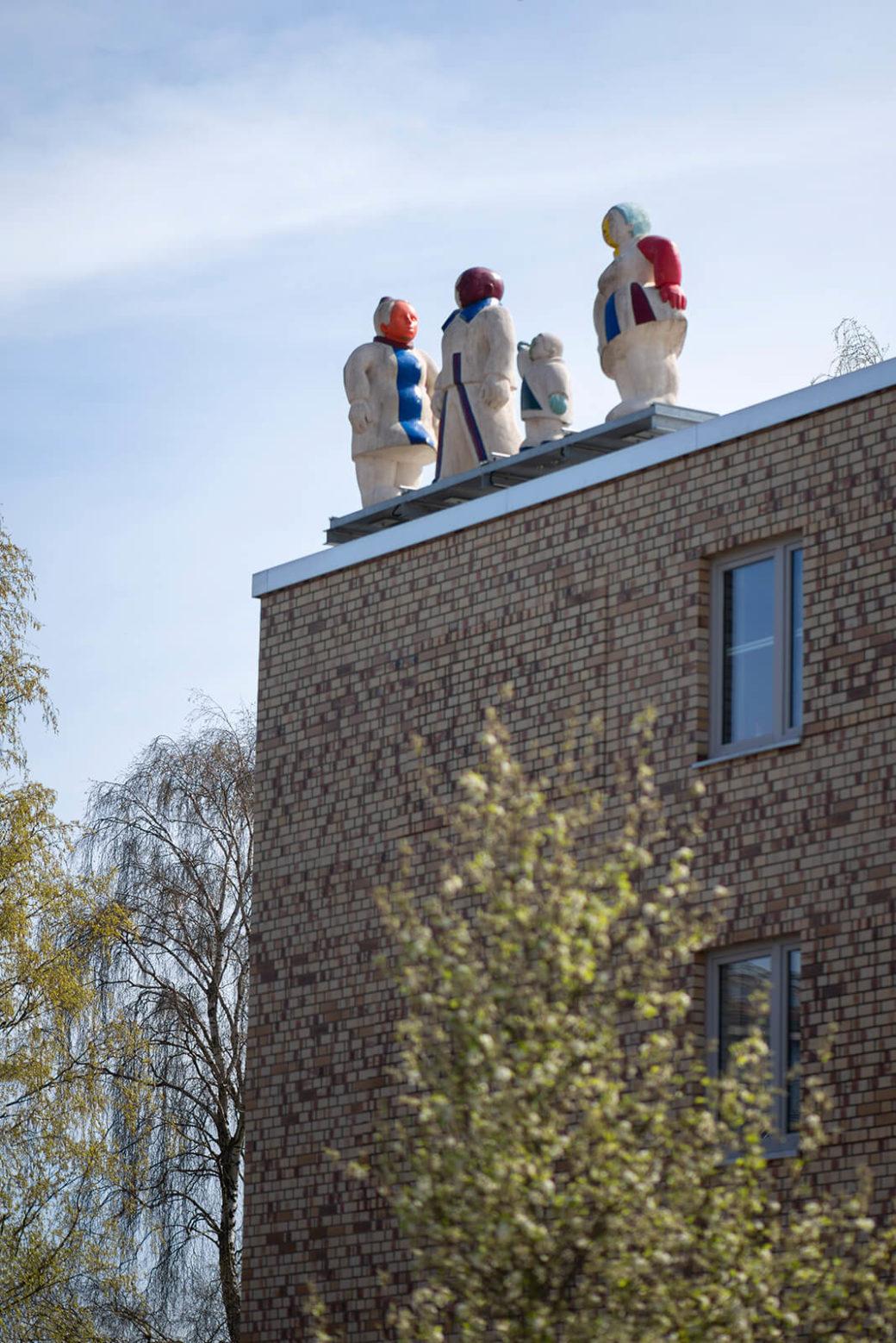 Bettina Thierig: Moislinger Gesellschaft (Foto: KUNST@SH/Jan Petersen, 2020)