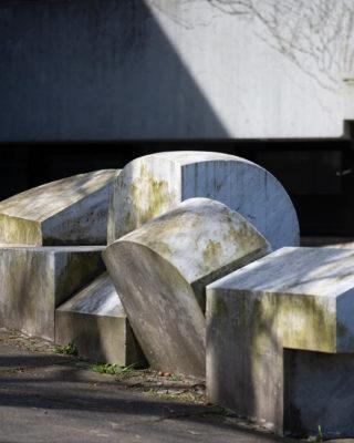 Georg Engst: Geometrie zum Anfassen (Foto: KUNST@SH/Jan Petersen, 2020)