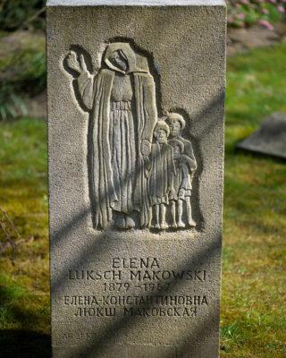 Elena Luksch-Makowsky: Grabmal Elena Luksch-Makowsky (Foto: KUNST@SH/Jan Petersen, 2020)
