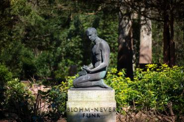 Karl Spethmann: Grabmal Blohm-Never (Foto: KUNST@SH/Jan Petersen, 2020)