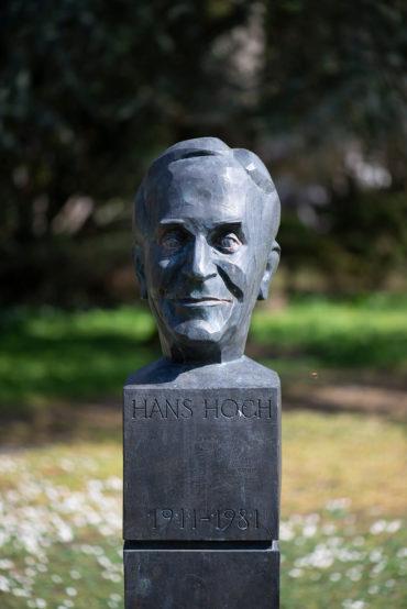 Manfred Sihle-Wissel: Büste Dr. Hans Hoch (Foto: KUNST@SH/Jan Petersen, 2020)