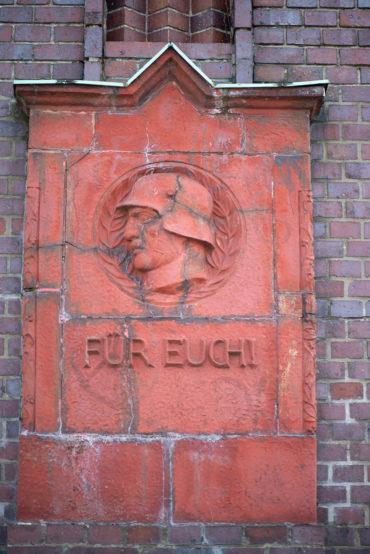 Richard Emil Kuöhl und Richard Blumenfeld: Eisenbahner-Denkmal (Foto: KUNST@SH/Jan Petersen, 2020)