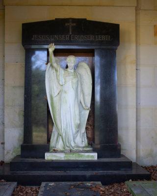Mausoleum Uhlig (Foto: KUNST@SH/Jan Petersen, 2020)