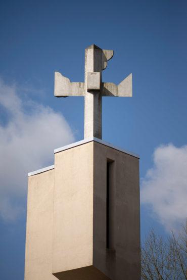 Hans Kock: Turmkreuz (Foto: KUNST@SH/Jan Petersen, 2020)