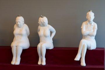 Henrike Reinckens: Die Sitzengebliebenen, (Foto: KUNST@SH/Jan Petersen, 2017)