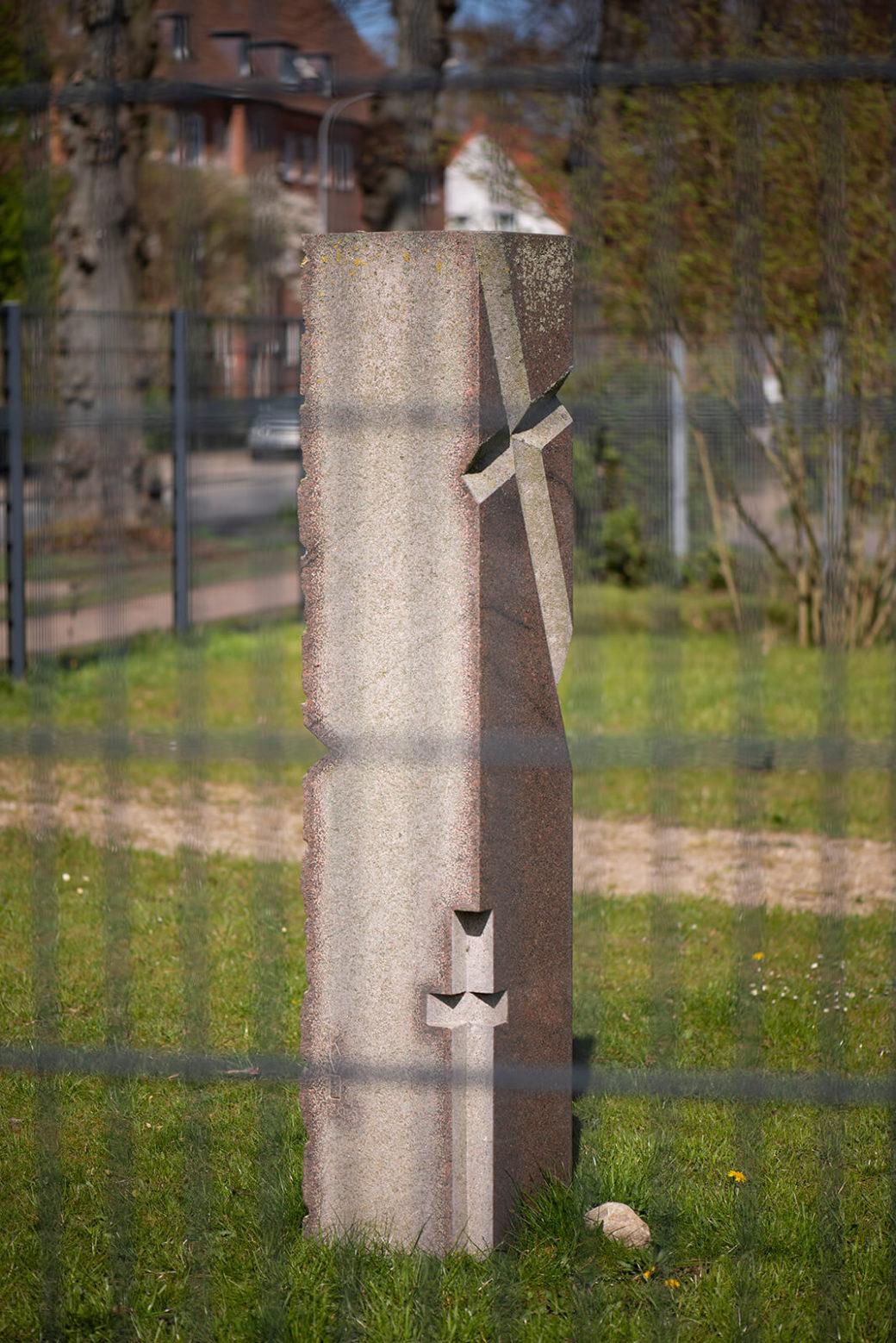 Karin van Ommeren: Vier Kreuze (Foto: KUNST@SH/Jan Petersen, 2020)