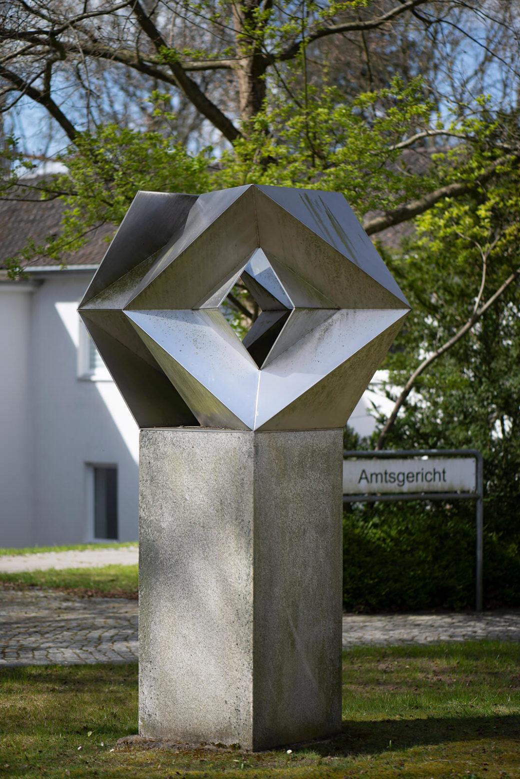 Günter Wiese: Große Zieltafel (Foto: KUNST@SH/Jan Petersen, 2020)