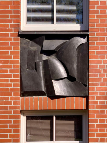 Manfred Sihle-Wissel: Drei Reliefs (Foto: KUNST@SH/Jan Petersen, 2020)