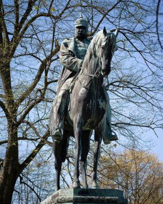 Johannes Schilling: Denkmal für Kaiser Wilhelm I. (Foto: KUNST@SH/Jan Petersen, 2020)