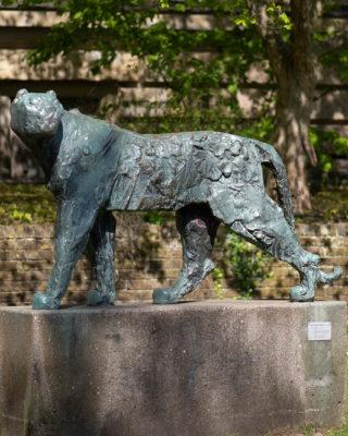 Hans Martin Ruwoldt: Panther (Foto: KUNST@SH/Jan Petersen, 2020)