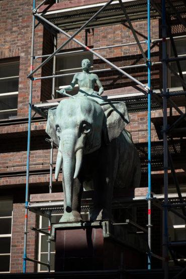 Ludwig Kunstmann: Elefant Anton (Foto: KUNST@SH/Jan Petersen, 2020)
