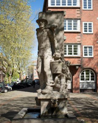 Richard Emil Kuöhl: Hummeldenkmal (Foto: KUNST@SH/Jan Petersen, 2020)