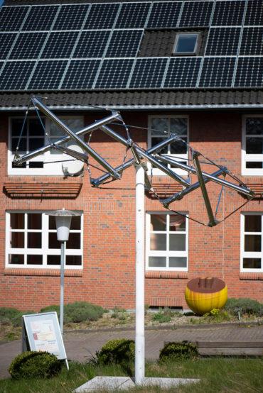 Richard Buckminster-Fuller: Urbild des Lebens (Foto: KUNST@SH/Jan Petersen, 2020)