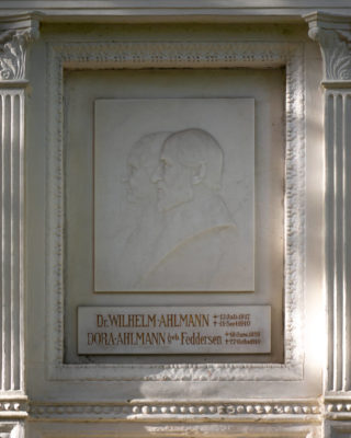 Adolf Brütt und Heinrich Moldenschardt: Grabmal Ahlmann (Foto: KUNST@SH/Jan Petersen, 2020)