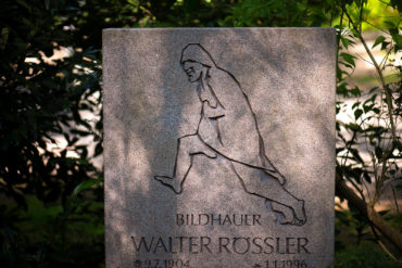 Walter Rössler: Grabmal Rössler (Foto: KUNST@SH/Jan Petersen, 2020)