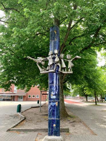 Barbara Stehr und Hermann Stehr: Stele (Foto: KUNST@SH/Jan Petersen, 2020)
