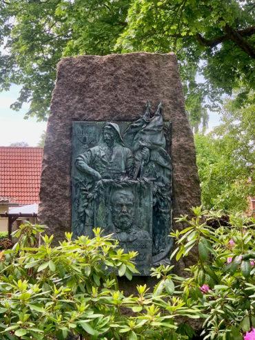 Denkmal für Matthäus Friedrich Chemnitz (Foto: KUNST@SH/Jan Petersen, 2020)