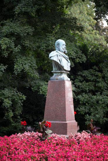 Felix Görling: Kaiser-Wilhelm-Büste (Foto: KUNST@SH/Jan Petersen, 2020)