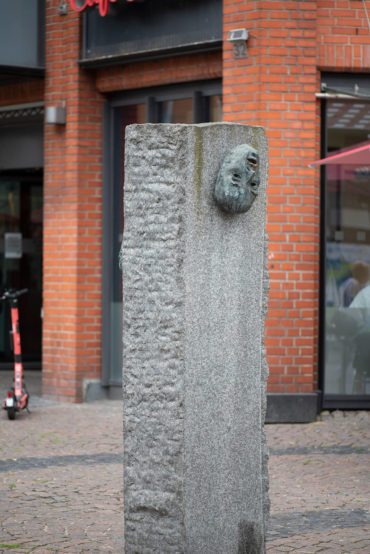 Rolf Thiele: Bergedorfer Skulpturengruppe (Foto: KUNST@SH/Jan Petersen, 2020)