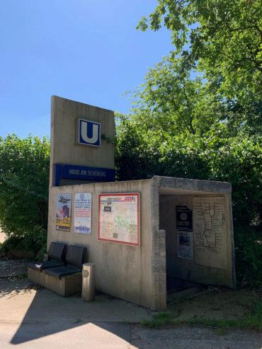 Uwe Schloen: U-Bahn-Station (Foto: KUNST@SH/Jan Petersen, 2020)
