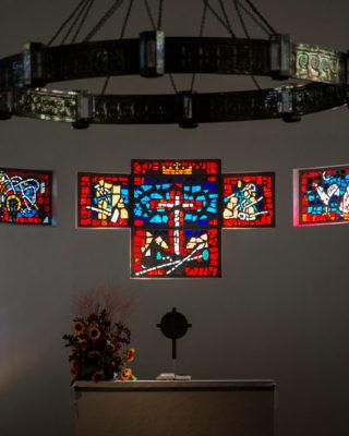 Siegfried Assmann: Altarfenster (Foto: KUNST@SH/Jan Petersen, 2020)