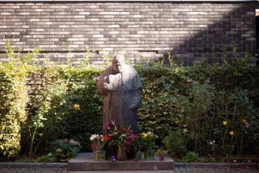 Józek Nowak: Hl. Johannes Paul II. (Foto: KUNST@SH/Jan Petersen, 2020)