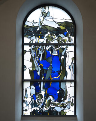 Johannes Schreiter: Kunstglasfenster Jesaja-Zyklus (Foto: KUNST@SH/Jan Petersen, 2020)