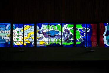 Wilhelm Buschulte: Fensterband (Foto: KUNST@SH/Jan Petersen, 2020)