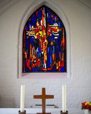 Ernst Günter Hansing: Altarfenster (Foto: KUNST@SH/Jan Petersen, 2020)
