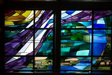 Johannes Beeck: Fensterwand (Foto: KUNST@SH/Jan Petersen, 2020)