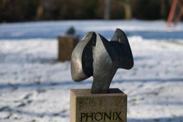 Heinrich Rohwedder: Phönix, (Foto: KUNST@SH/Jan Petersen, 2018)