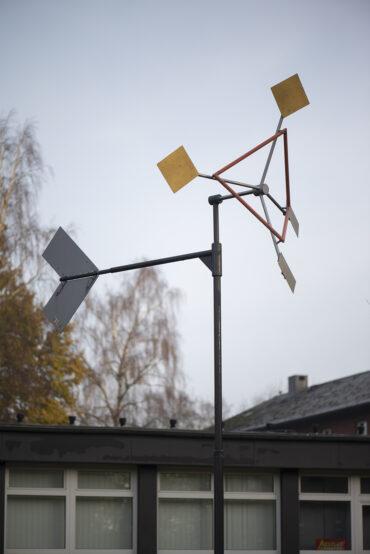 Yvan Pestalozzi: Windspiel (Foto: KUNST@SH/Jan Petersen, 2020)