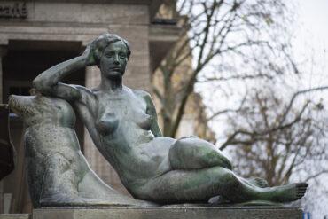 Georg Wrba: Mönckebergbrunnen (Foto: KUNST@SH/Jan Petersen, 2021)