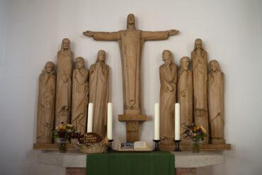 Otto Flath: Altar der St. Jürgen Kirche (Foto: KUNST@SH/Jan Petersen, 2020)