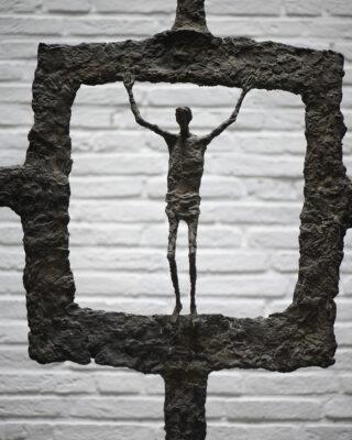 Ursula Querner: Kruzifix (Foto: KUNST@SH/Jan Petersen, 2021)