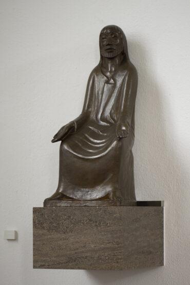Ernst Barlach: Lehrender Christus (Foto: KUNST@SH/Jan Petersen, 2021)